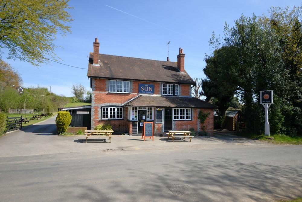 The Sun Inn Pub Hill Bottom Whitchurch Hill
