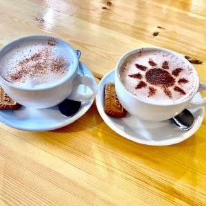 Coffees at The Sun Whitchurch Hill